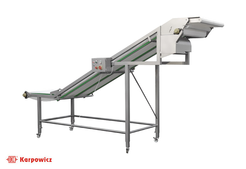Modular conveyor for fish fillets Karpowicz