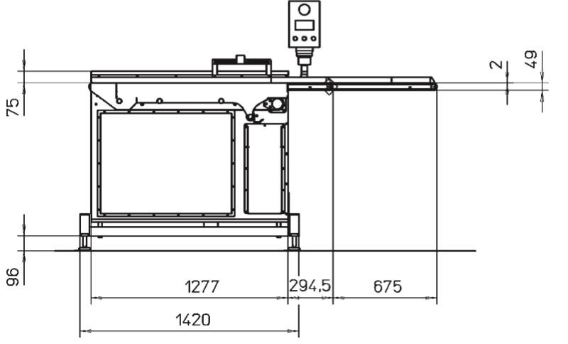 Шаттл конвейер коробка фольксваген транспортер т5