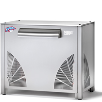 Ice maker with integrated Maja SAH 1500 W refrigeration unit