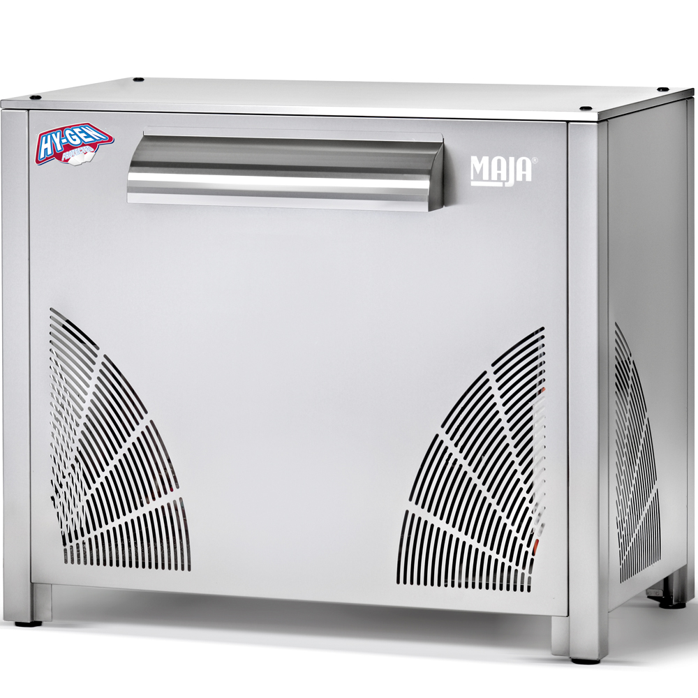 Ice maker with integrated Maja SAH 3000 L refrigeration unit