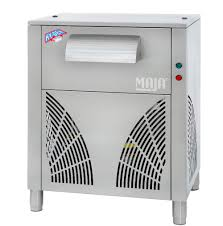 Ice maker with integrated Maja SAH 500 W refrigeration unit