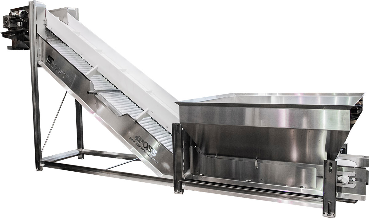 Conveyor without Poss PDX metal detector