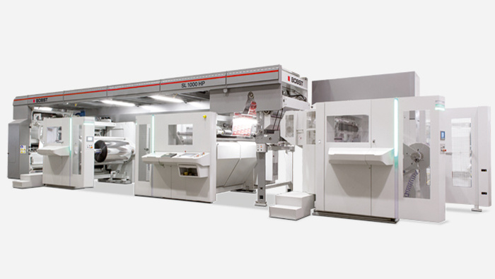 BOBST SL 1000HP laminator (solventless)