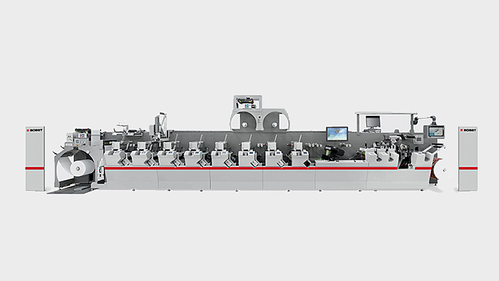 Flexo printing machine section type BOBST M5