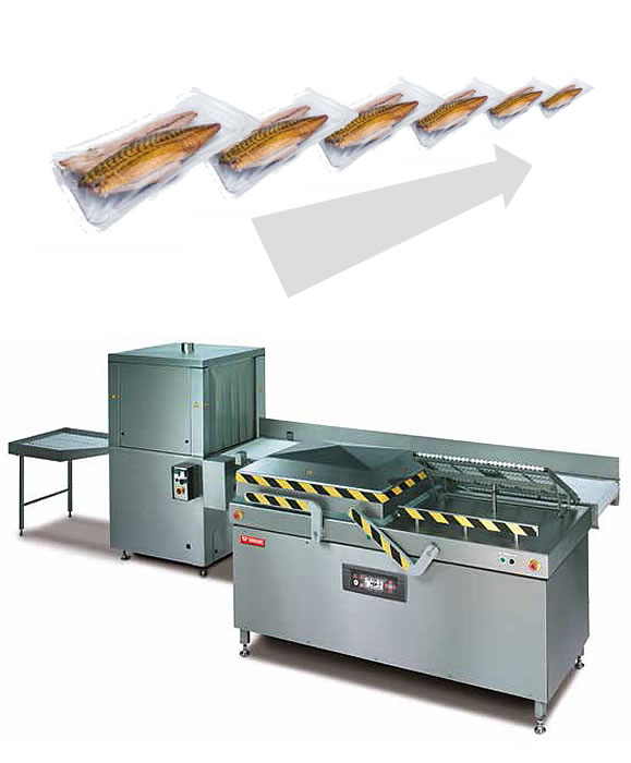 Two-chamber vacuum packing machine Turbovac A5000 LL