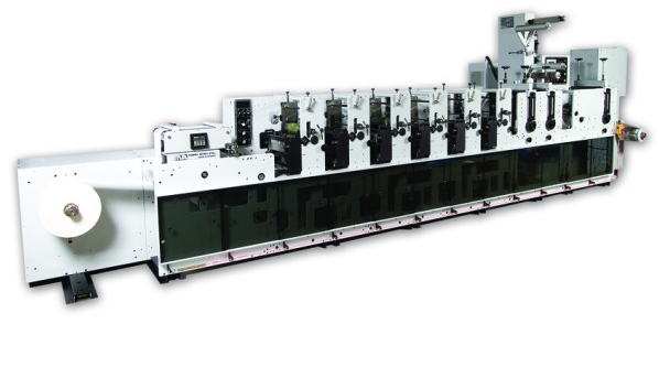 Flexographic printing machine Mark Andy - 6 color