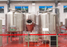 Mini-brewery with a capacity of 100 liters. beer per day