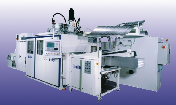 We sell used ILLIG thermoforming machines, Van Dam printers.