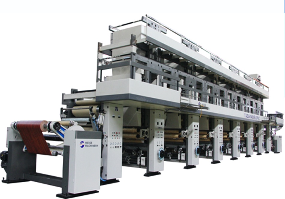 Automatic Rotogravure Printing Press for PVC ZHMG-601400(ELG)