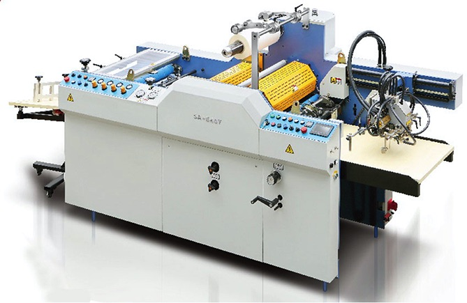 Fully Automatic Embossing Laminating Machine SA-540Y