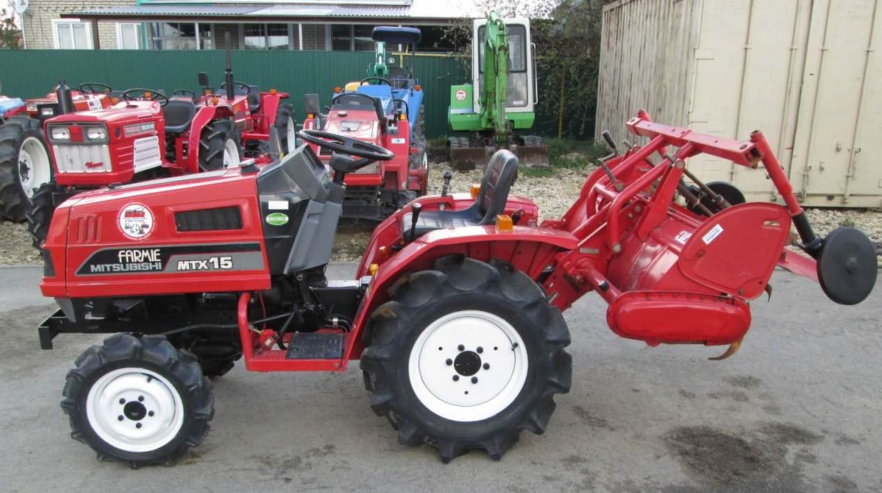 Japanese tractor Mitsubishi MTX15D
