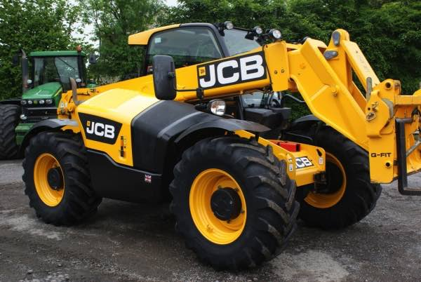 Loader telescopic JCB 531-70 Agri (2011)