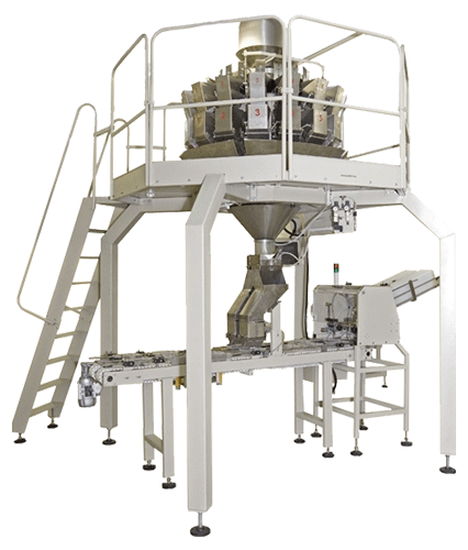 Complete thermoformer packaging line