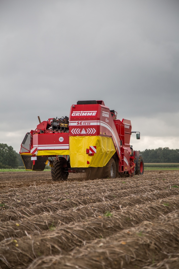 Potato harvester Grimme SE 75-55 (2010 and 2011)