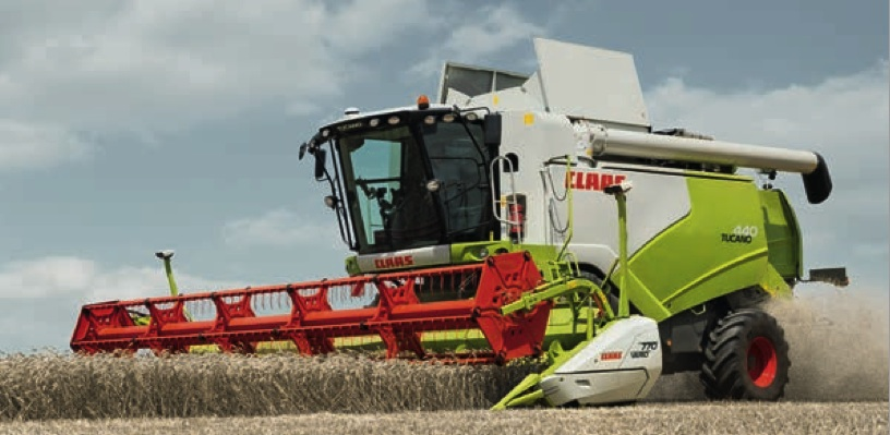 Combines CLAAS Tucano 430 (2009 year, 2 pcs)