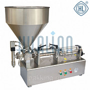 The piston dispenser for viscous and liquid products