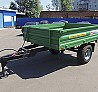 Semi-trailer tractor dumping 1PPS-3, 5