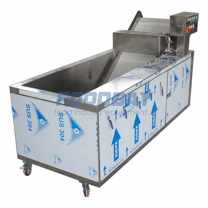 The machine for washing vegetables and fruits bubbling Sink 22