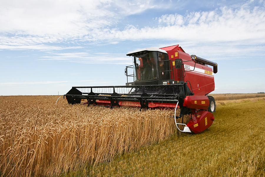 "Combine harvester ""PALESSE GS12"" KZS-1218 in installments up to 2 years"