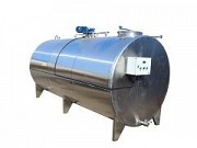 Horizontal dairy tank (with jacket) 10000l