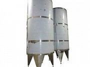 Vertical insulated tank - 10000l