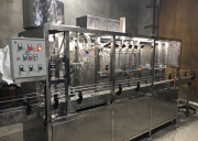 Bottling line in pet bottle 5L automatic