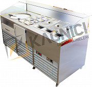 Machine for ice cream production