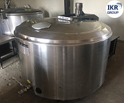 The milk cooler with a volume of 800 litres b/a