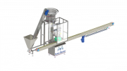 A machine for filling aerosol cans