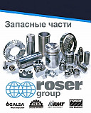 Spare parts for equipment brands Roser Group