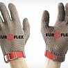 Gloves chain mail Euroflex Comfort 9590, 15 cm, red strap