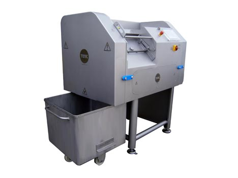 Cube slicing machines