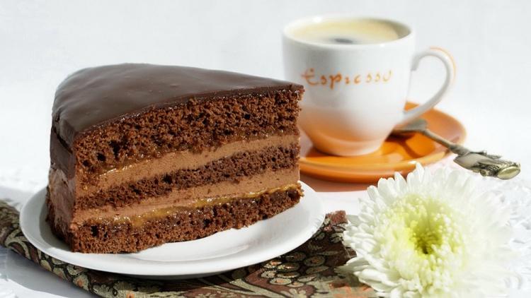 История торта Прага