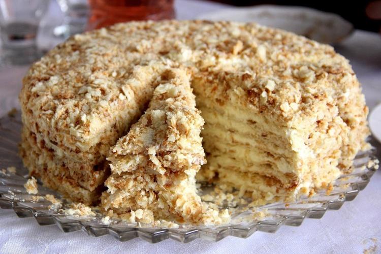 История возникновения торта Наполеон