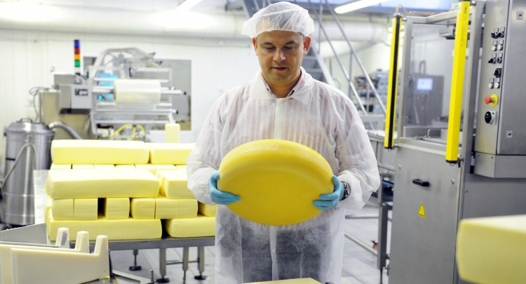 Снижение производства молока